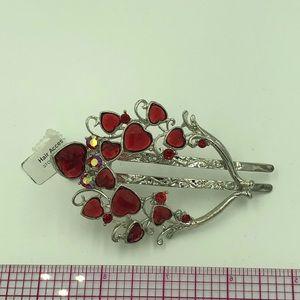 Fashion Metal, crystal hair clip